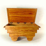 Handcrafted Wood Chest