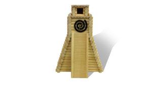 Mayan Wood Clock